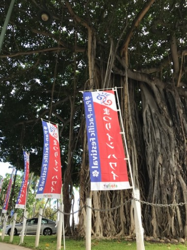 ハワイ イベントバナー のぼりのイメージ